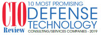Top 10 Defense Technology Consulting/Services Companies - 2019